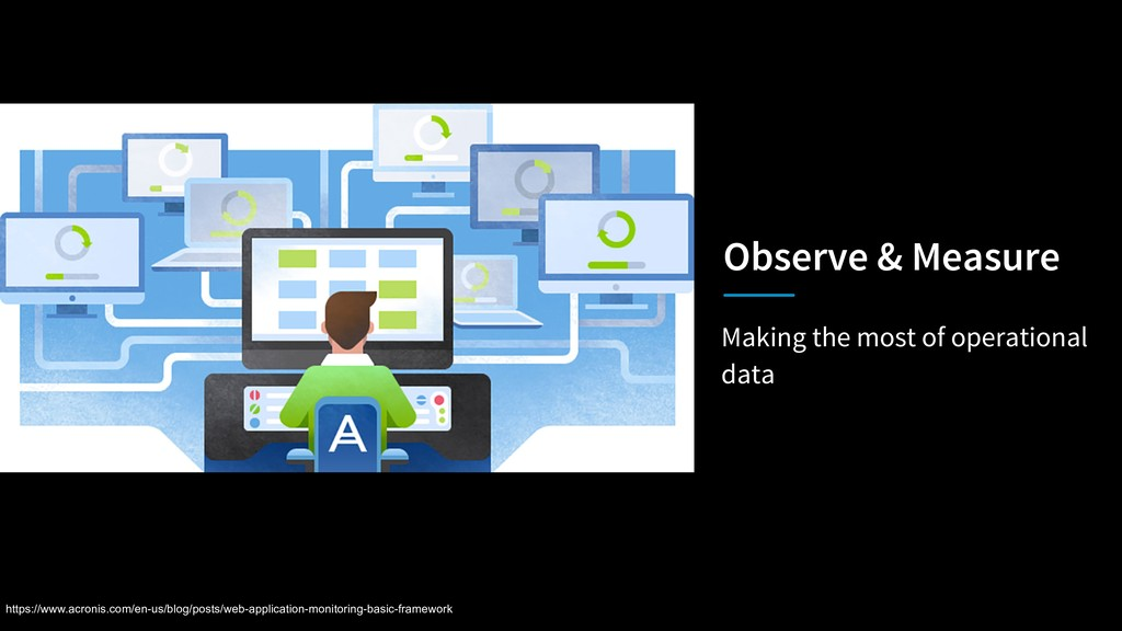 Making the most of operational data Observe & M...