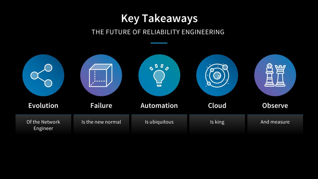 Key Takeaways THE FUTURE OF RELIABILITY ENGINEE...
