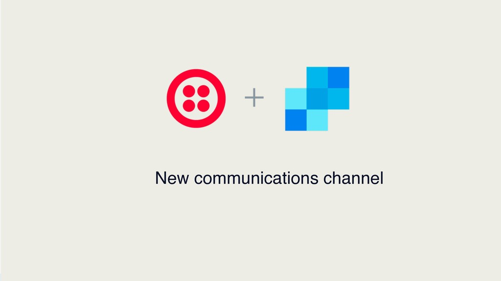 © 2019 TWILIO INC. ALL RIGHTS RESERVED. New com...