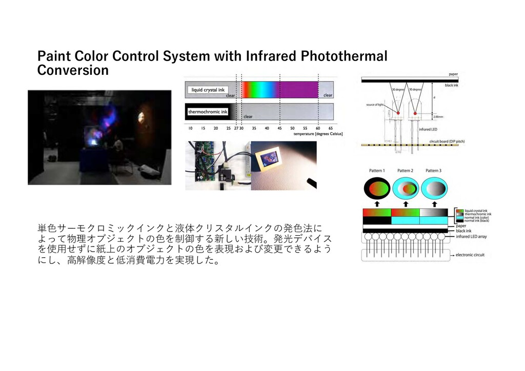 Paint Color Control System with Infrared Photot...
