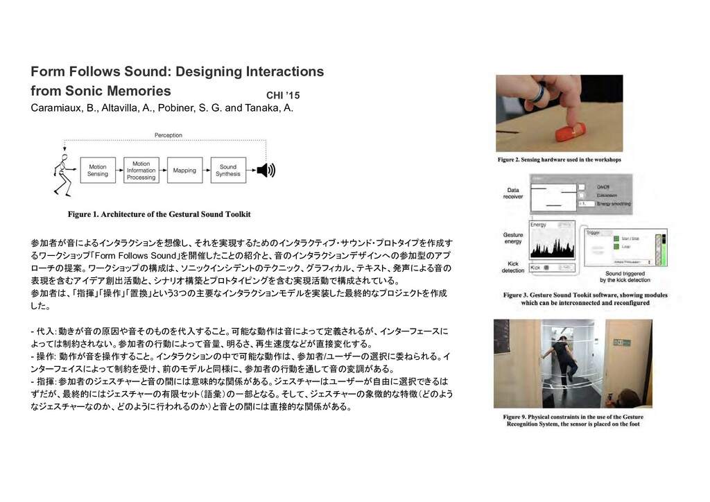 Form Follows Sound: Designing Interactions from...