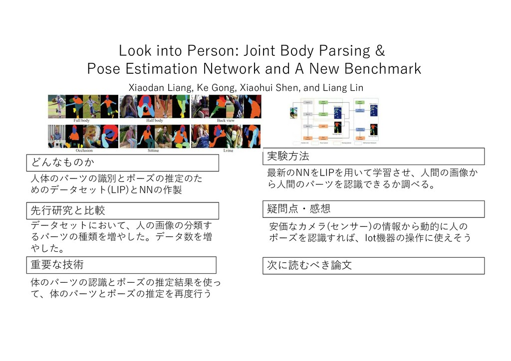 Look into Person: Joint Body Parsing & Pose Est...
