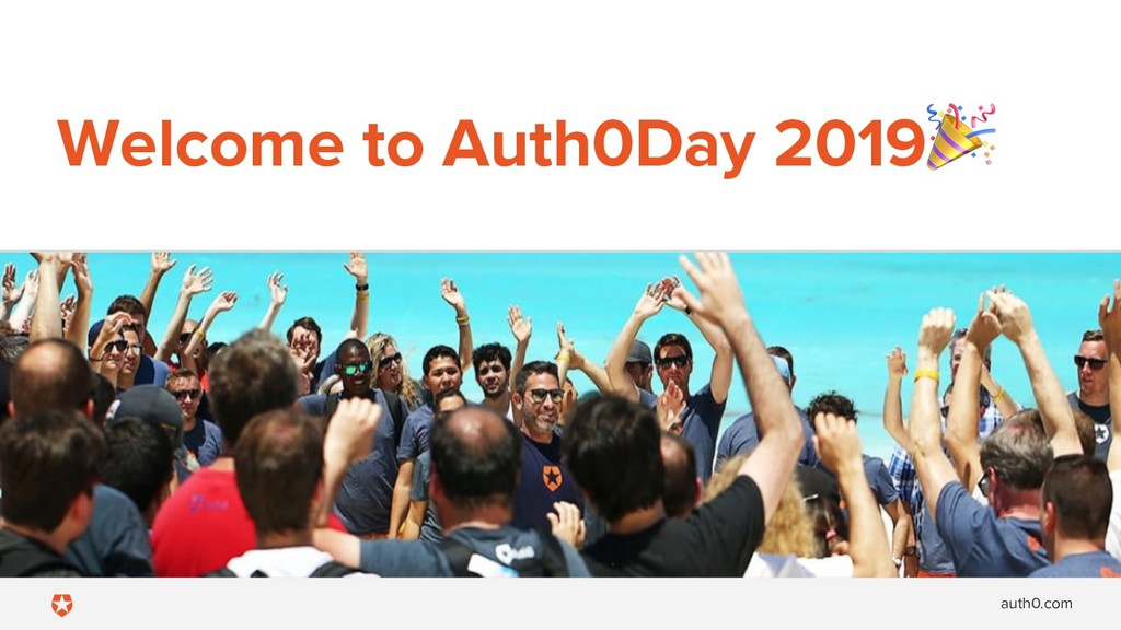 auth0.com Welcome to Auth0Day 2019