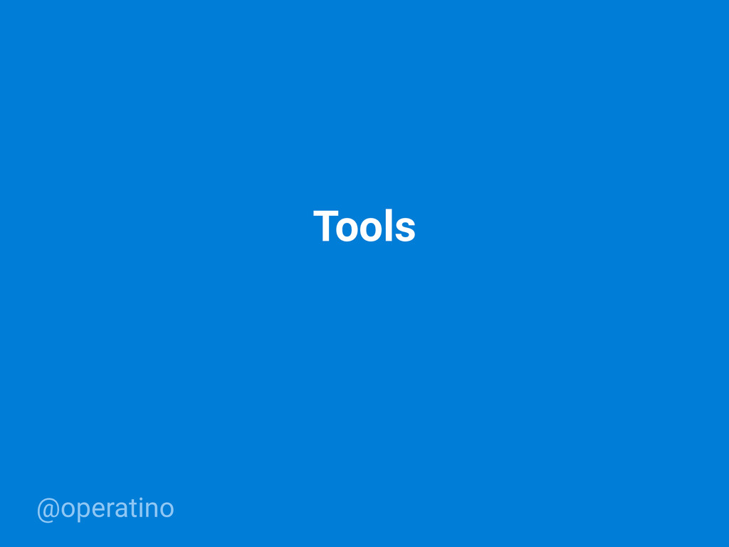 @operatino Tools