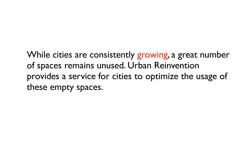 While cities are consistently growing, a great ...