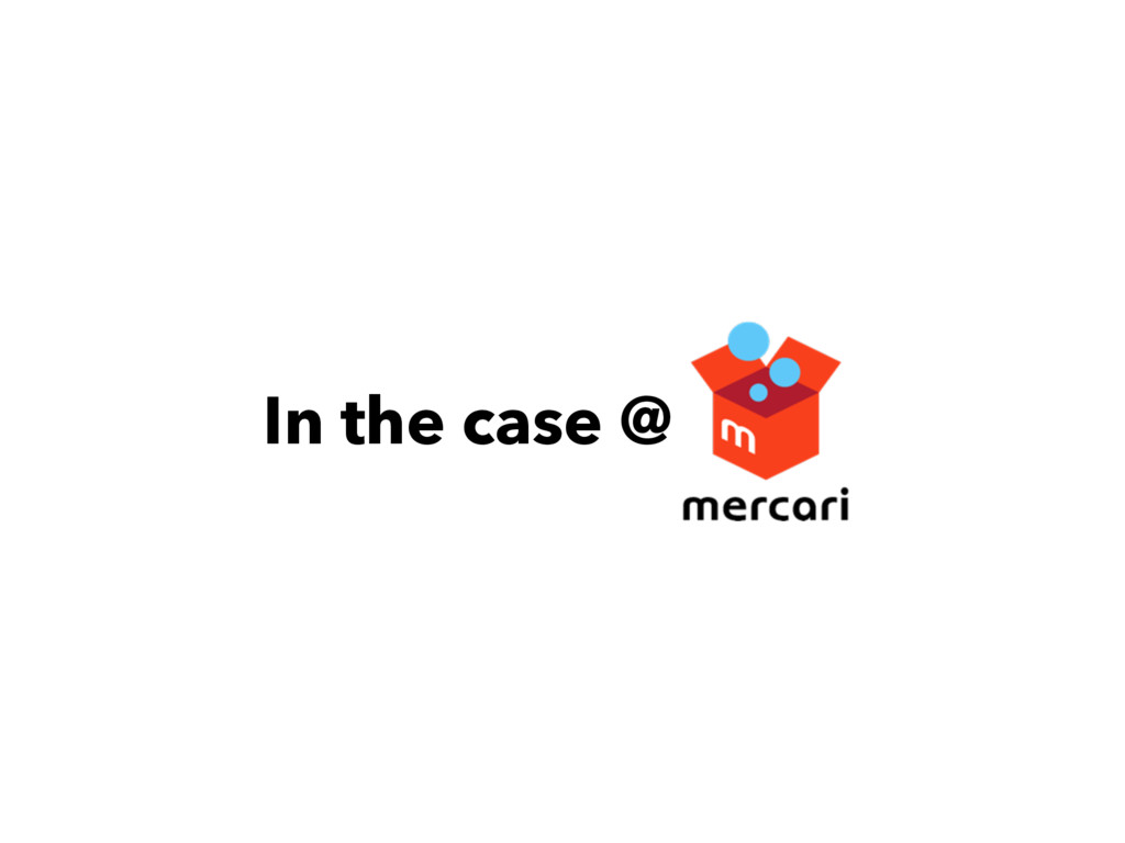 In the case @