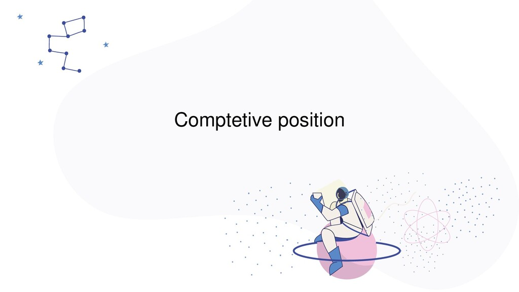 Comptetive position