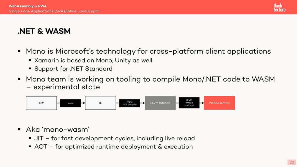 23 § Mono is Microsoft's technology for cross-p...