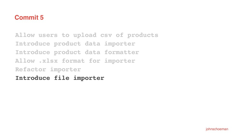 Commit 5 Allow users to upload csv of products ...