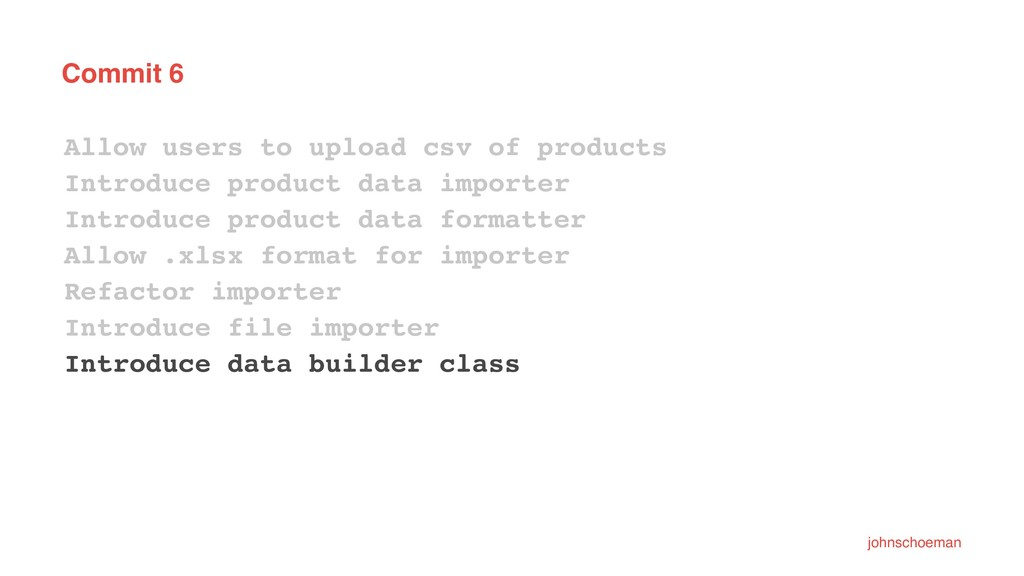 Commit 6 Allow users to upload csv of products ...