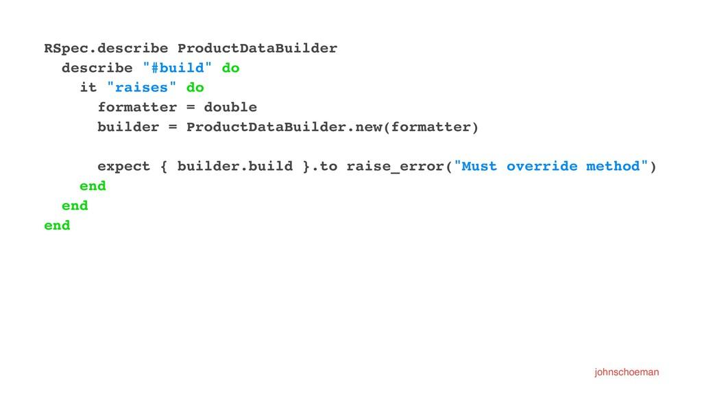 """RSpec.describe ProductDataBuilder describe """"#bu..."""