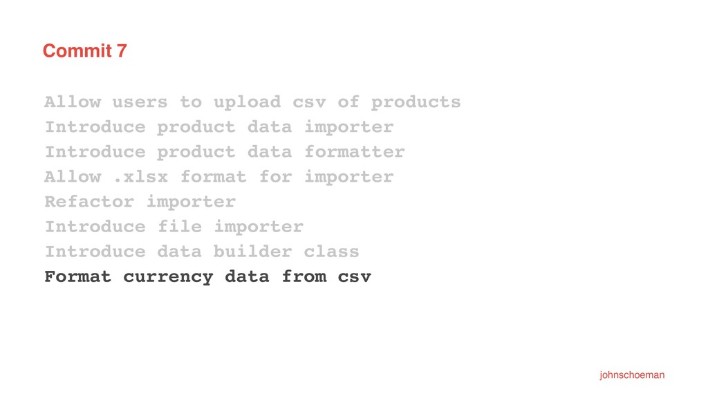 Commit 7 Allow users to upload csv of products ...