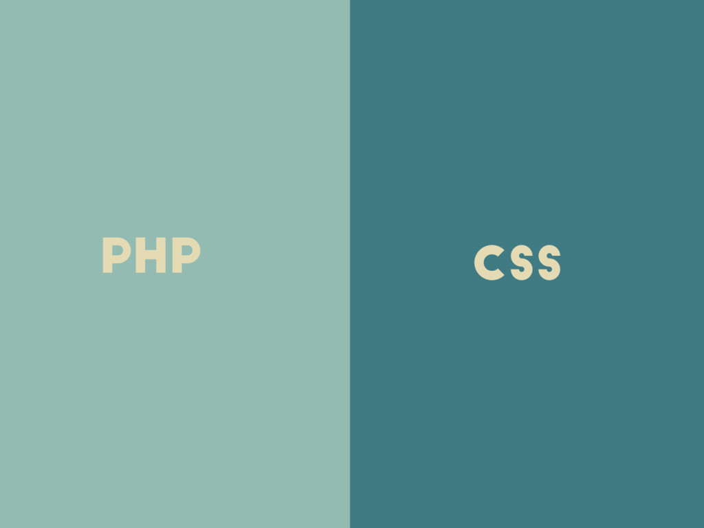 php css