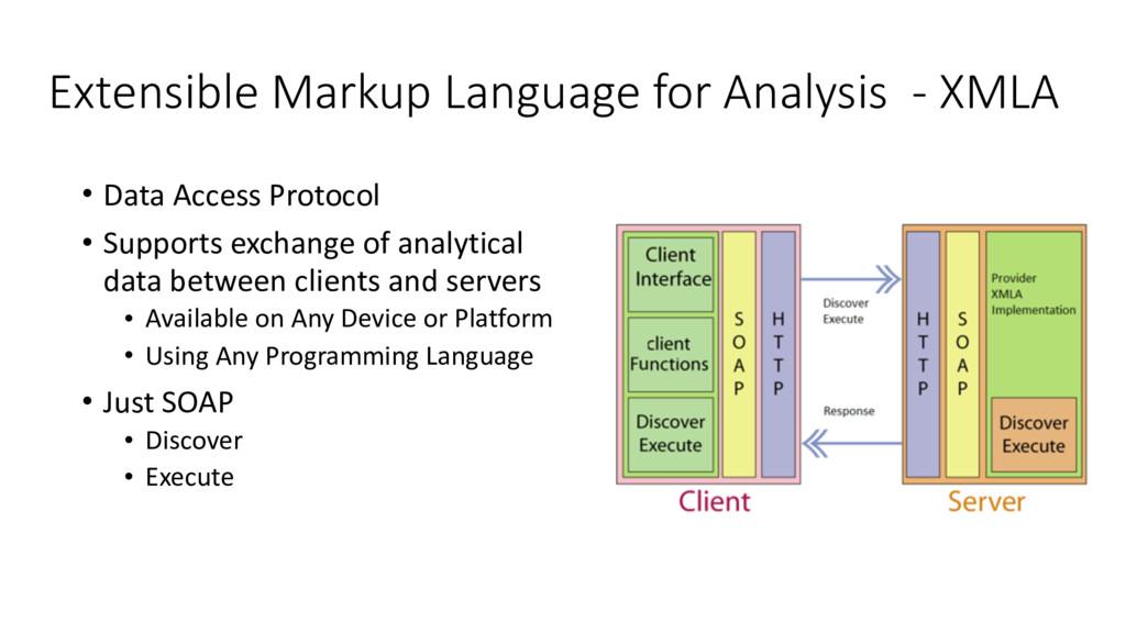 Extensible Markup Language for Analysis  ...