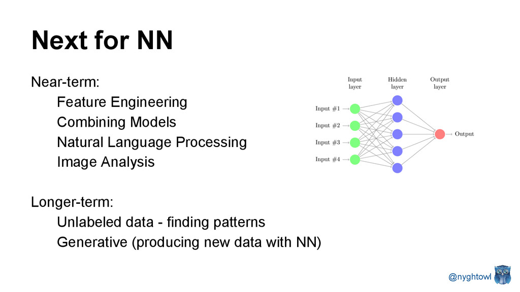 Next for NN Near-term: Feature Engineering Comb...