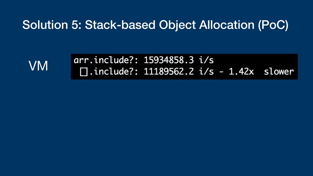 Solution 5: Stack-based Object Allocation (PoC)...