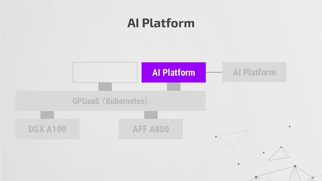 AI Platform DGX A100 AFF A800 AI Platform GPUaa...