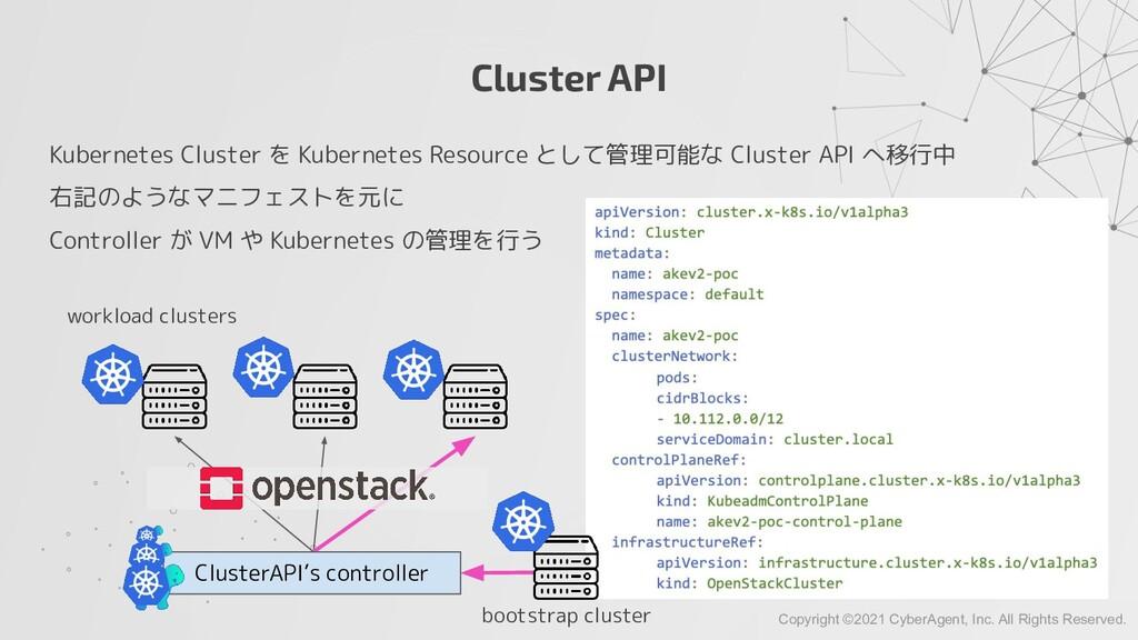 Cluster API Kubernetes Cluster を Kubernetes Res...