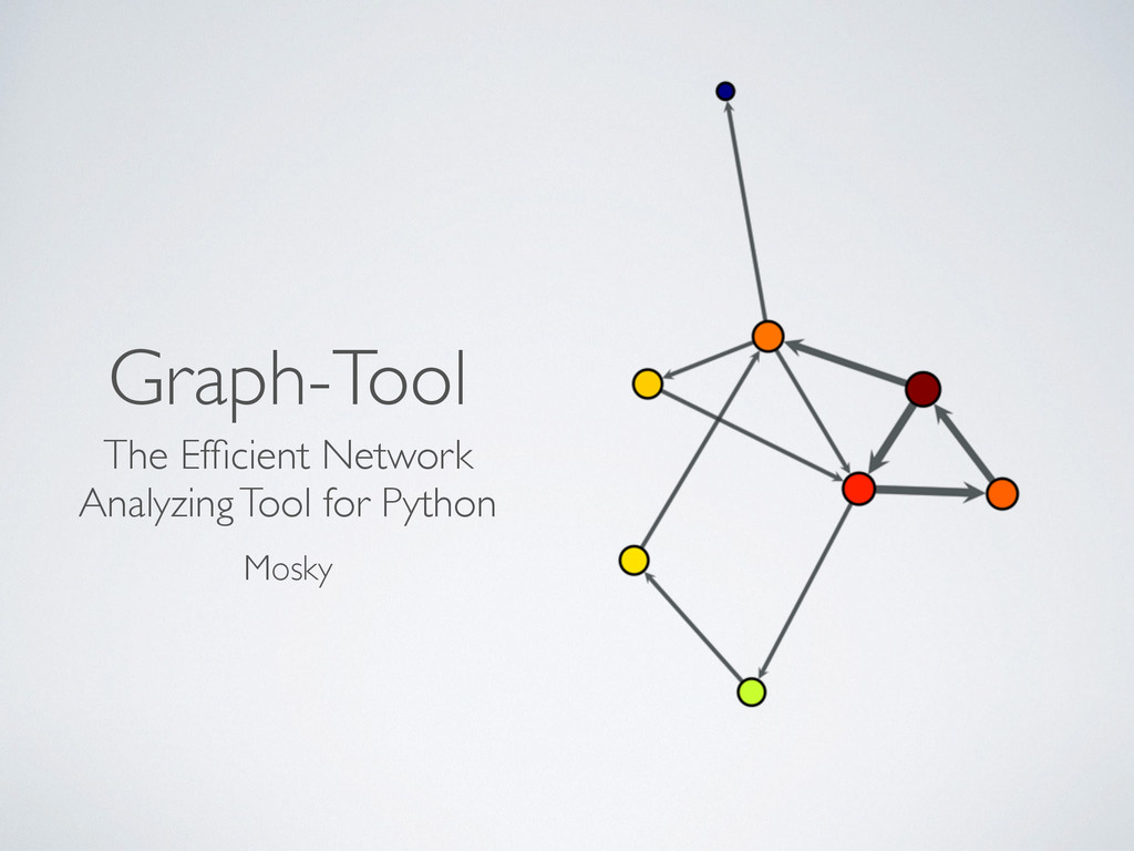 Graph-Tool The Efficient Network Analyzing Tool ...