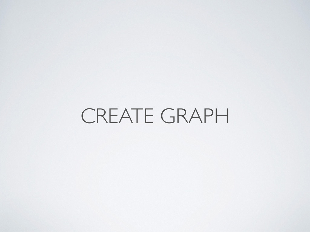 CREATE GRAPH