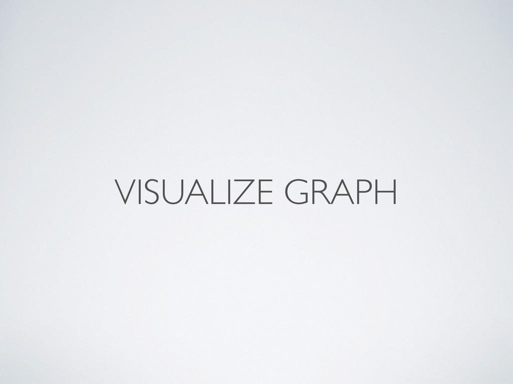 VISUALIZE GRAPH