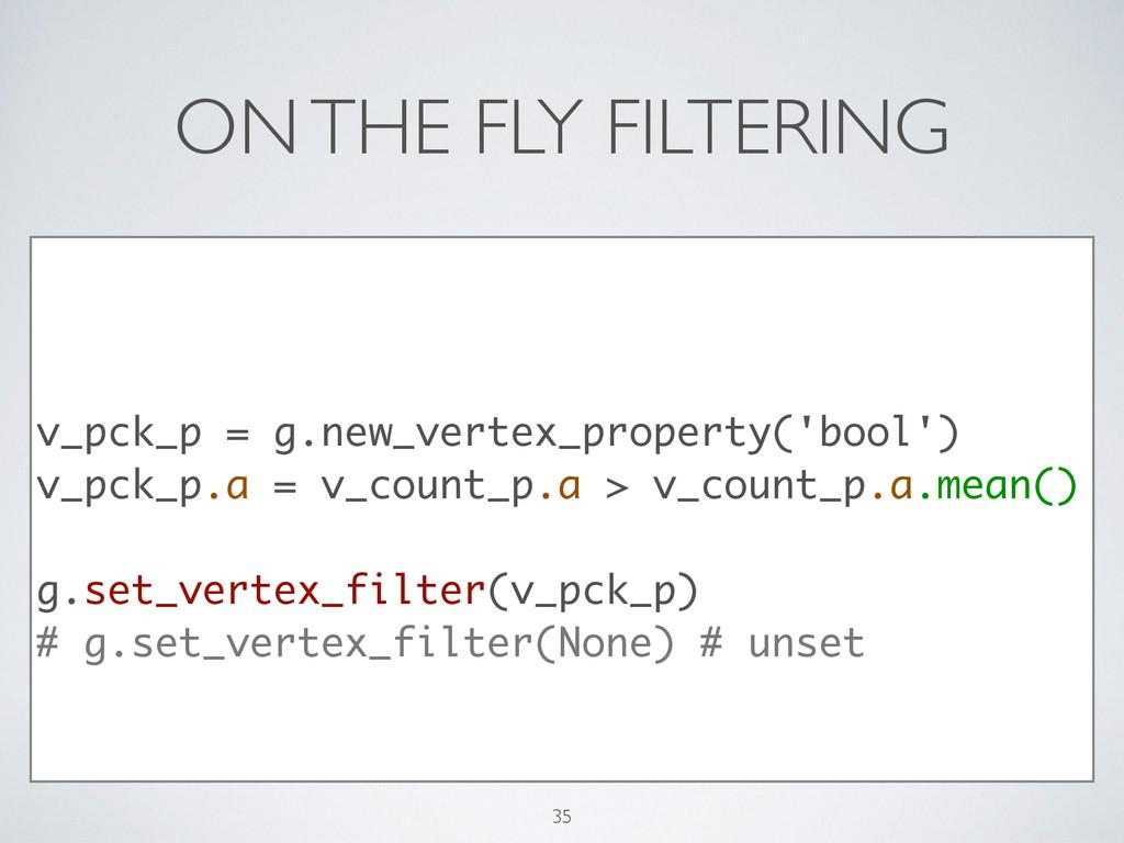 ON THE FLY FILTERING ! v_pck_p = g.new_vertex_p...
