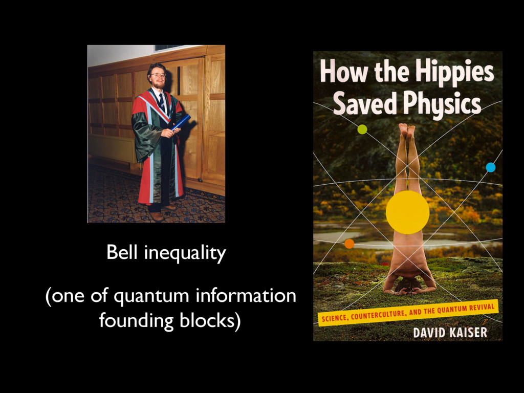 Bell inequality (one of quantum information fou...