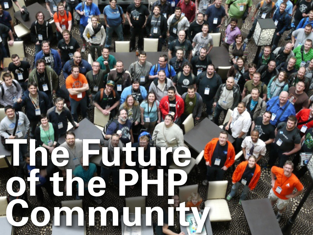 The Future of the PHP Community