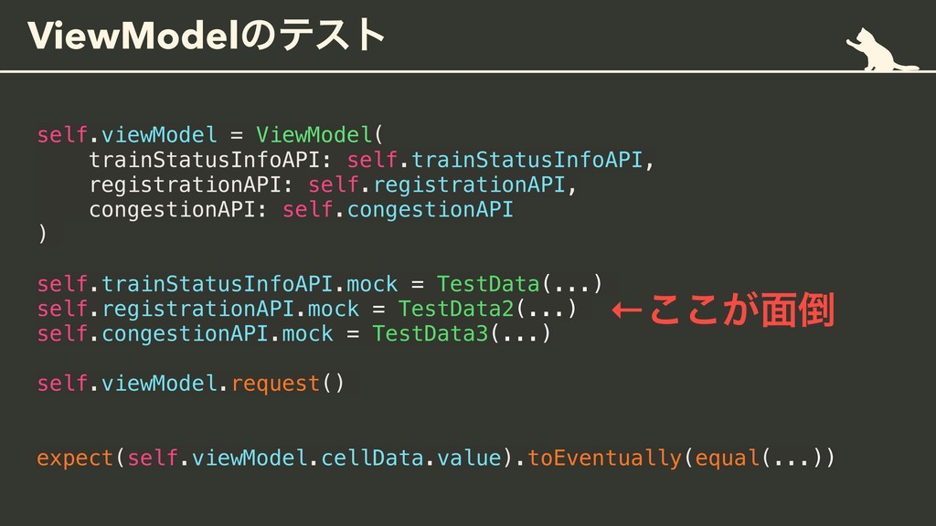 ViewModelͷςετ self.viewModel = ViewModel( train...