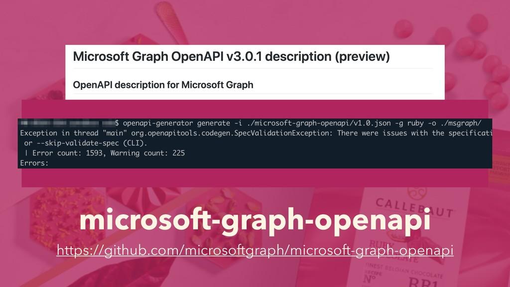 microsoft-graph-openapi https://github.com/micr...
