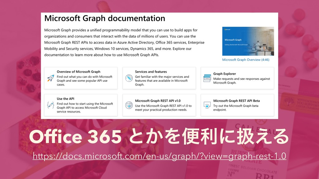 Office 365 ͱ͔Λศརʹѻ͑Δ https://docs.microsoft.com/...