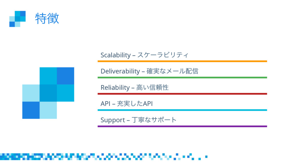 ಛ Scalability – εέʔϥϏϦςΟ Deliverability – ࣮֬ͳϝ...