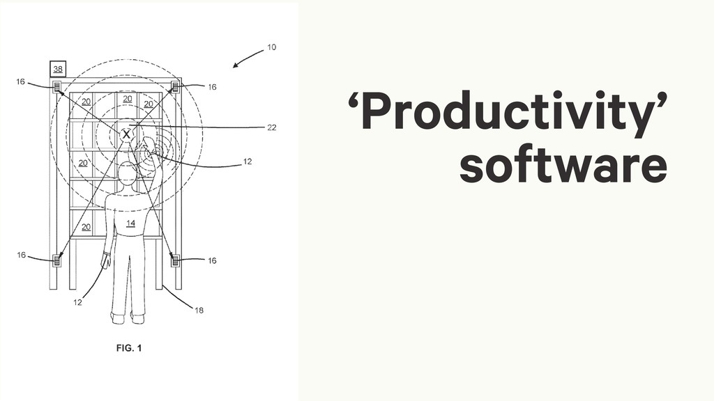 'Productivity' software