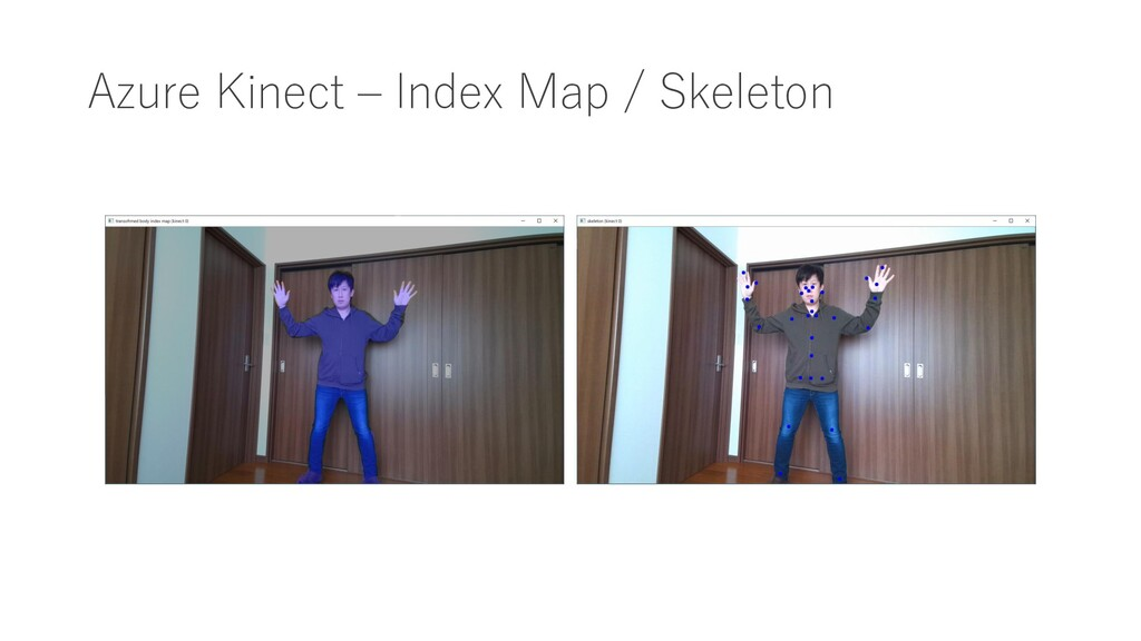 Azure Kinect – Index Map / Skeleton