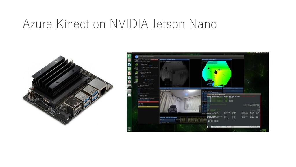 Azure Kinect on NVIDIA Jetson Nano