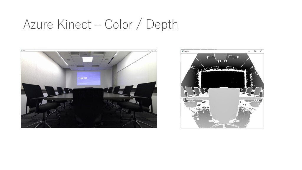 Azure Kinect – Color / Depth