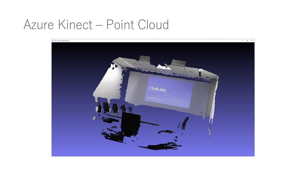 Azure Kinect – Point Cloud