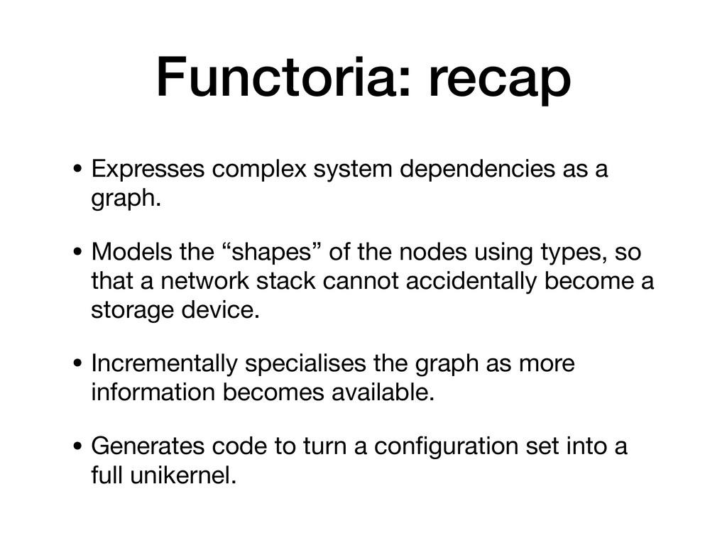 • Expresses complex system dependencies as a gr...