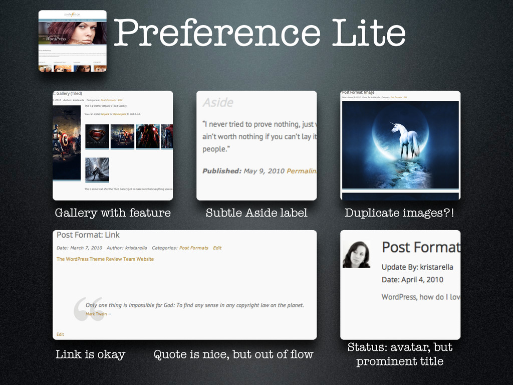Preference Lite Gallery with feature Subtle Asi...
