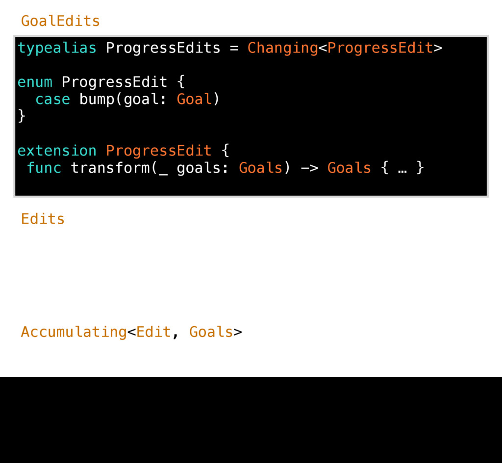 typealias ProgressEdits = Changing<ProgressEdit...
