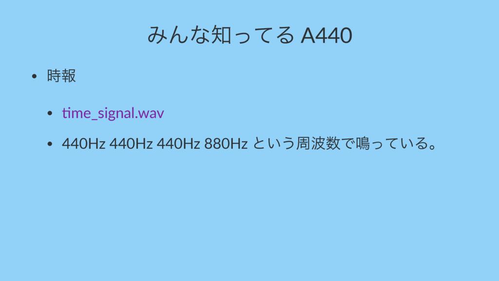 """ΈΜͳͬͯΔ A440 • ใ • """"me_signal.wav • 440Hz 440H..."""