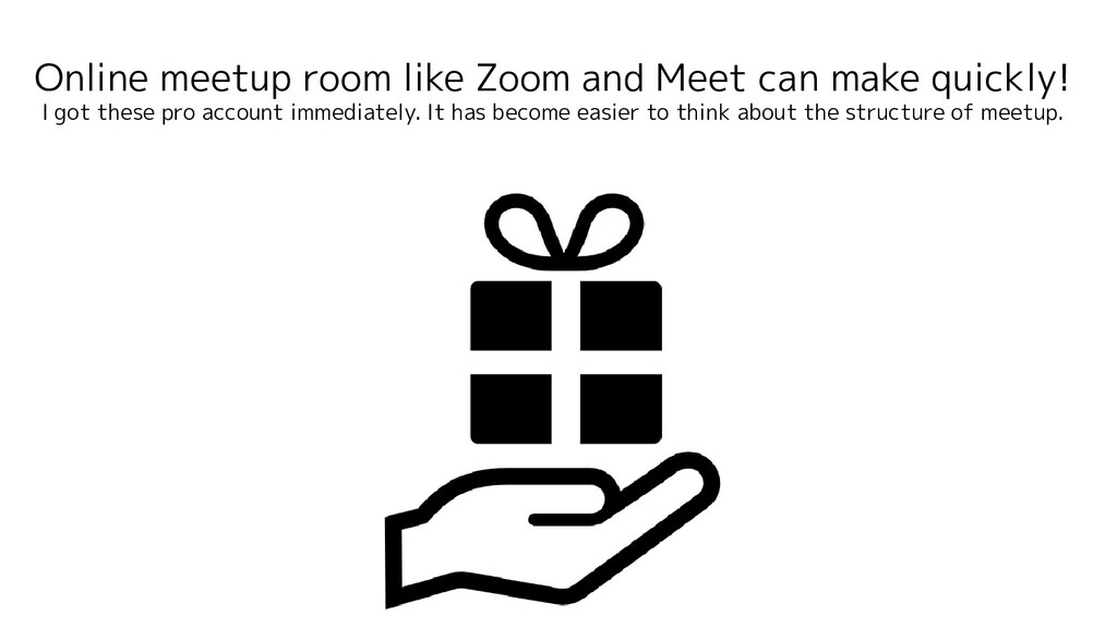 Online meetup room like Zoom and Meet can make ...