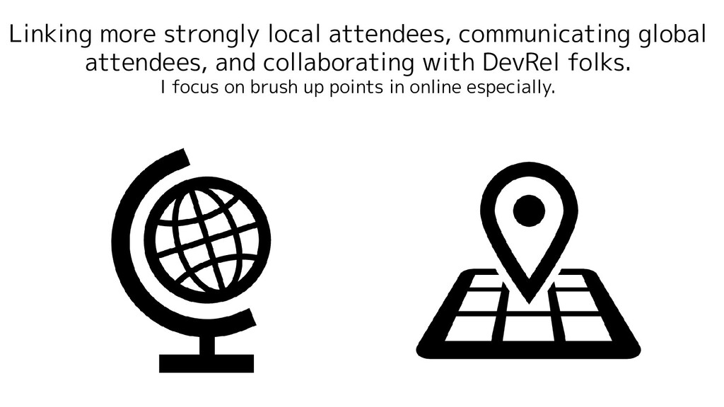 Linking more strongly local attendees, communic...
