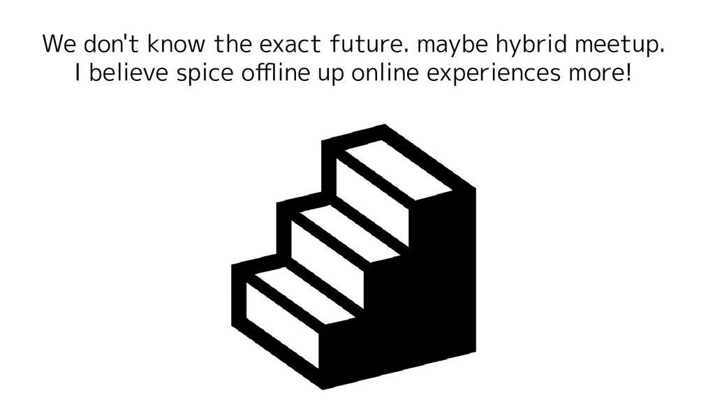 We don't know the exact future. maybe hybrid me...