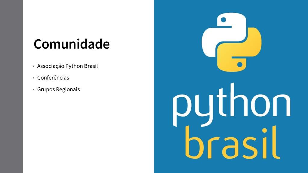 Comunidade • Associação Python Brasil • Conferê...