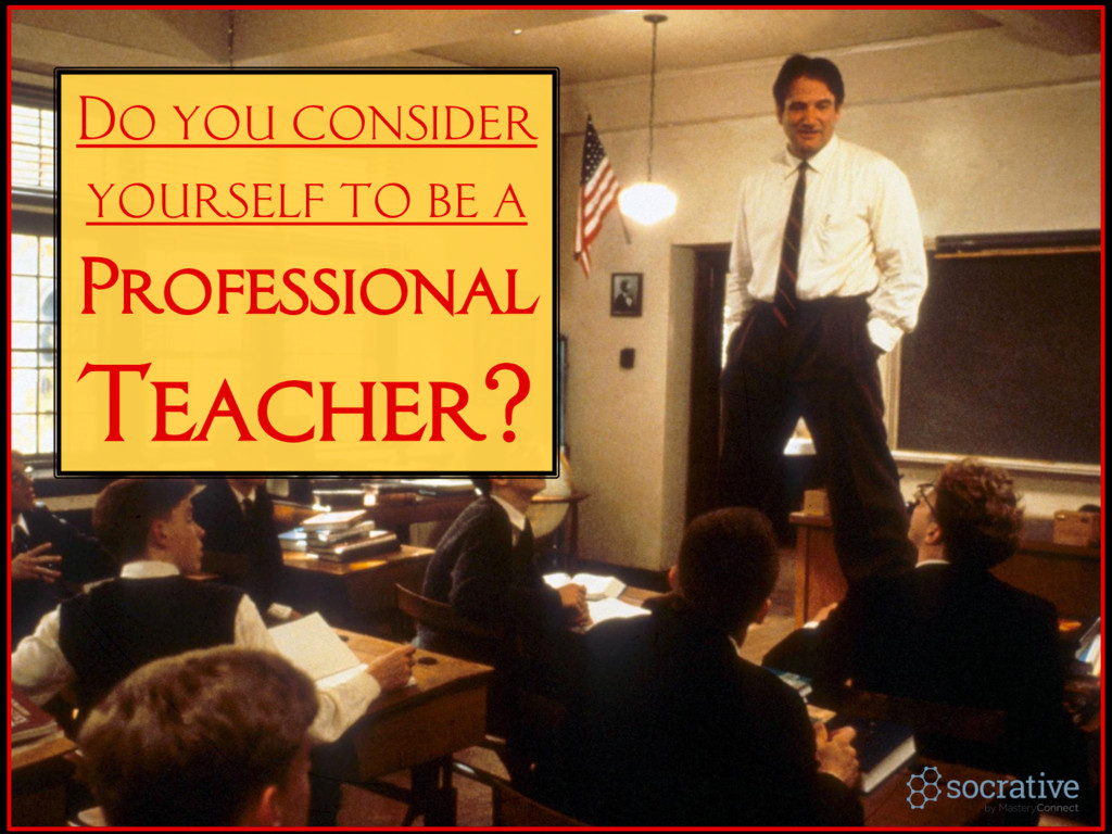 Do you consider yourself to be a Professional T...