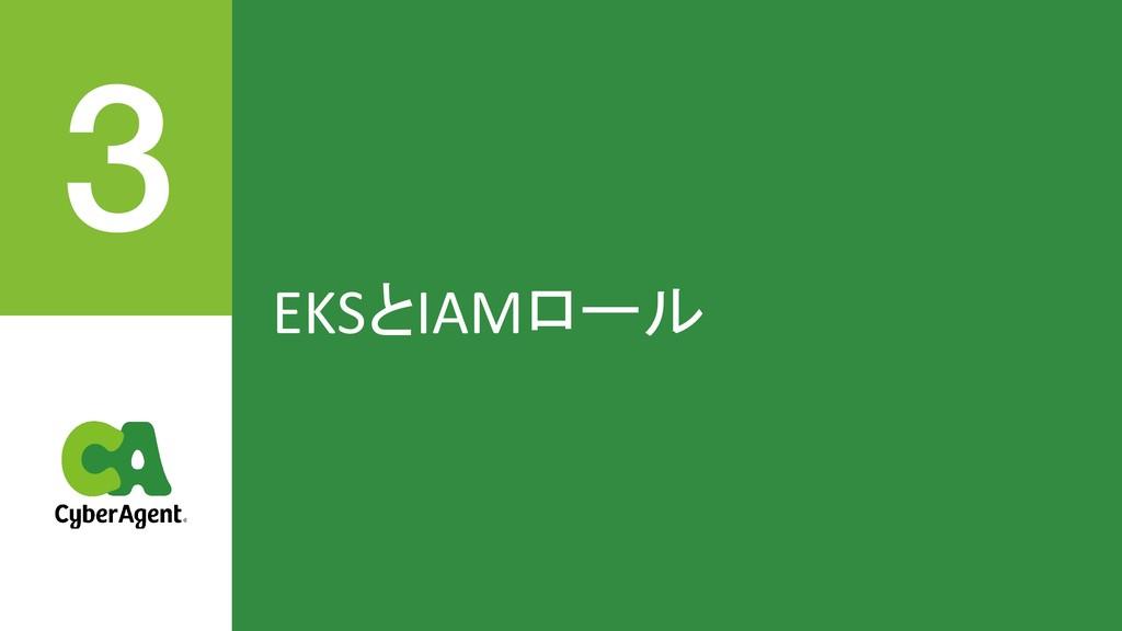 EKSとIAMロール