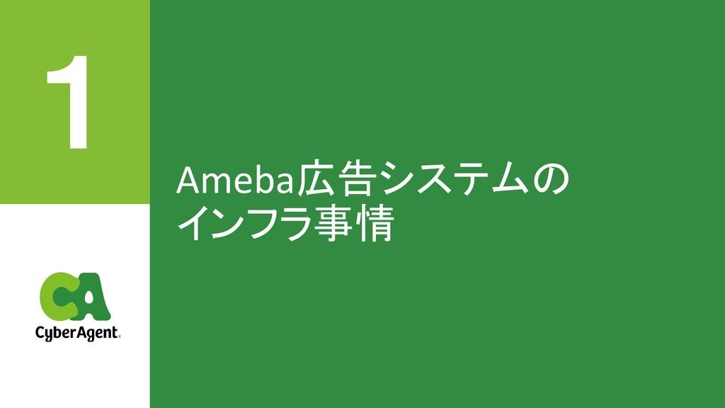 Ameba広告システムの インフラ事情