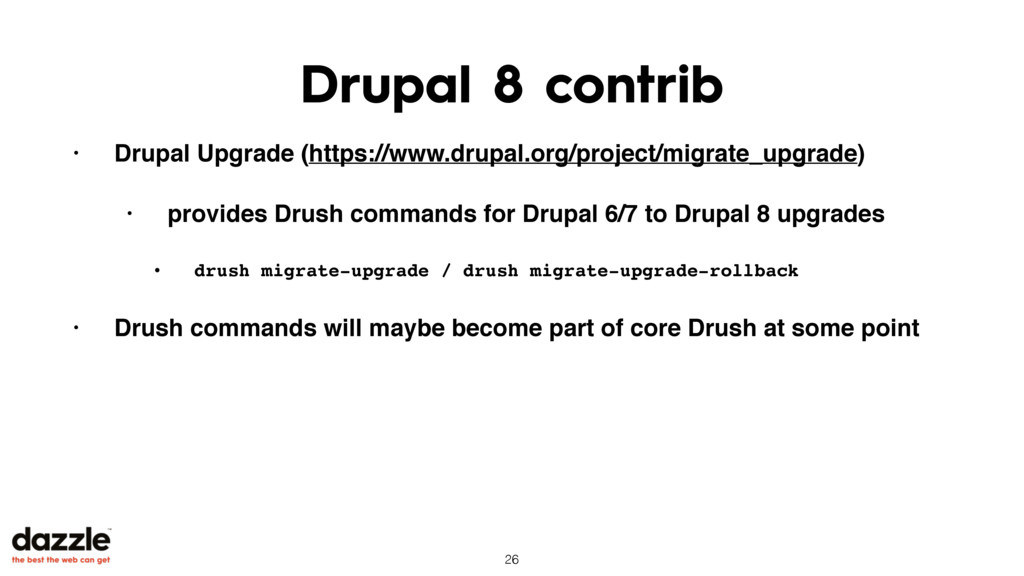 Drupal 8 contrib • Drupal Upgrade (https://www....