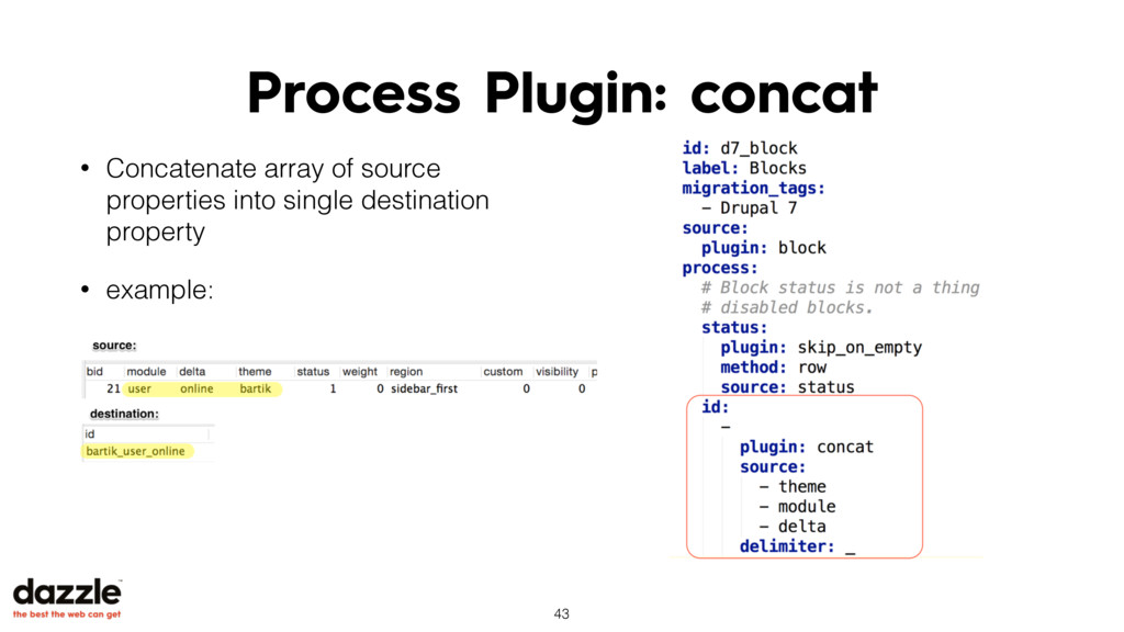 Process Plugin: concat • Concatenate array of s...